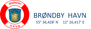 logo brøndby havn